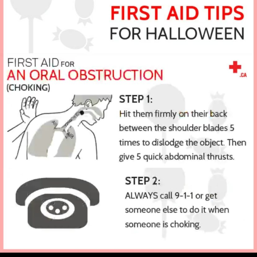 First Aid tips for Halloween-Alpha Life Trainers